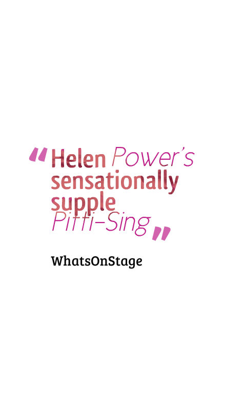 Helen Power Pitti Sing Hot Mikado - Watermill Theatre